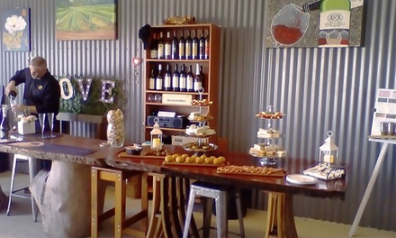 High Tea with Bubbles & TakeHome Wine $59, 4 $115 or 6 People $169 at God's Hill Wines Up to $504 Value
