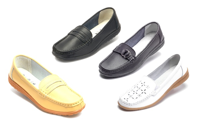 Mocassins 100% cuir, Pili Pala   Groupon Shopping 3984f063158d