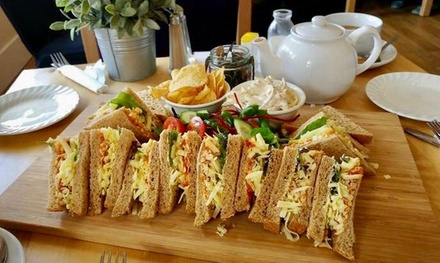 Classic or Springtime Cheese Afternoon Tea for Two or Four at Rowell's Rolls Cafe Bistro
