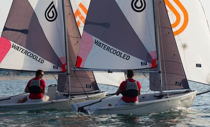image for Windsurfing or Sailing Lesson at Watercooled UAE (Up to 55% Off)