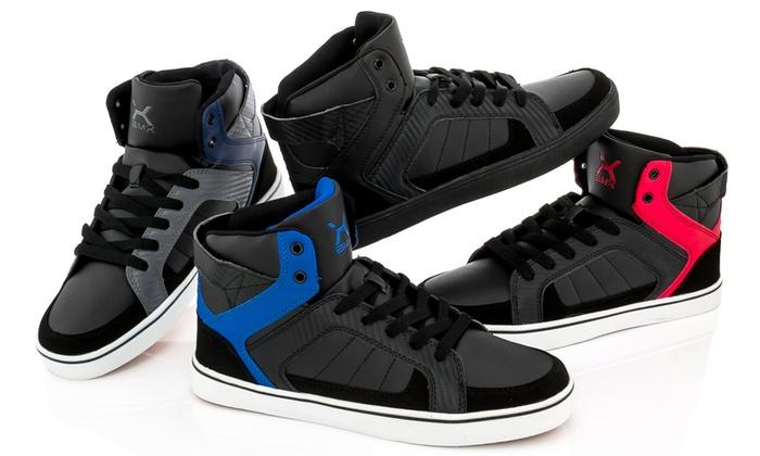 BMX Men's High-Top Sneakers