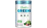 Femme Goddess Greens Berry Delicious Dietary Supplement (1- or 2-Pack)