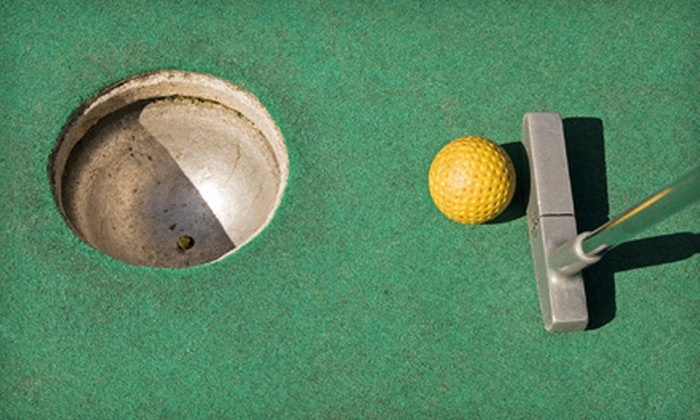 The Sports Arena - Hermon: Mini Golf for Four, Two Games of Bowling with Shoe Rental for Four, or Both at The Sports Arena (Up to 60% Off)