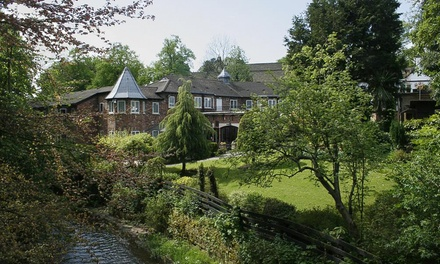 Cheshire: 1 or 2 Nights with Breakfast and Optional Dinner, Prosecco or Wine at The Bridge Hotel