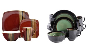 Gibson Elite Stoneware Dinnerware Set (16-Piece)