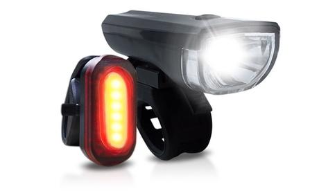 Set de luces delanteras y traseras LED universales para bicicletas