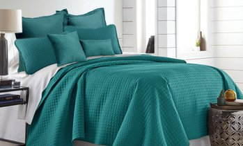All Season Hotel Collection Comforter Set 7pc