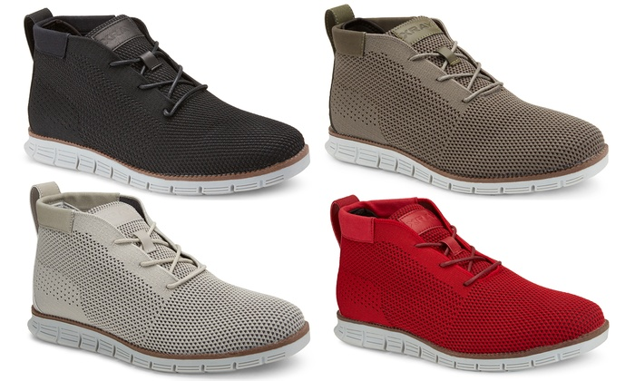 Up To 61% Off on Xray Men s Mid Top Knit Sneakers  29c3a0da84d