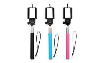 Monopod Extendable Wired Selfie Stick