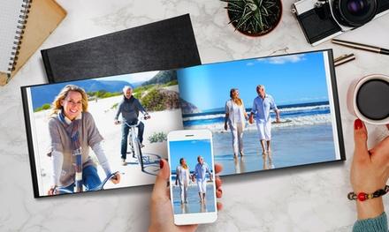 1, 2 o 3 libros de fotos de Instagram de cuero de 30 o 50 páginas con PrinterPix (hasta 95% de descuento)
