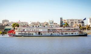 Harbor Jazz Cruise at Steamboat Natchez at Steamboat Natchez, plus 6.0% Cash Back from Ebates.