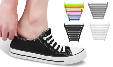 Silicone No-Tie Shoelaces