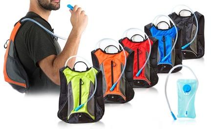 1x oder 2x Trinkrucksack mit 1,5 l Wasserspeicher in der Farbe nach Wahl