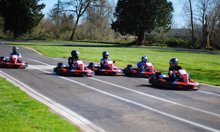 Pat's Acres Racing Complex - Canby: $36 for a Weekday Go-Kart Package at Pat's Acres Racing Complex ($50 Value)