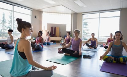 $39 for One Month of Unlimited Yoga <strong>Classes</strong> at Yoga Chikitsa ($105 Value)