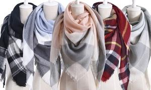 Écharpes à carreaux pour femme
