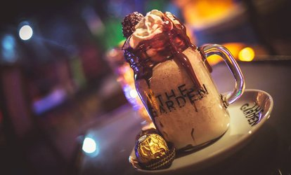 Milkshakes or Waffles for Two or Four at The Garden Dessert Lounge Nottingham (Up to 38% Off)