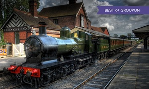 Chigwell Tours and Visits: Ongar Steam Train Tour Plus Optional Afternoon Cream Tea for One, Two or a Family of Four from Chigwell Tours and Visits
