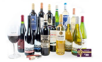 84% Off 15 Bottles of Wine from Splash Wines