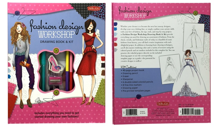Fashion Design Workshop Drawing Kit Groupon