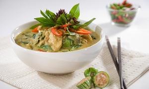 Lan Tania: Three-Course Thai Meal for Two at Lan Tania Thai Restaurant (54% Off)
