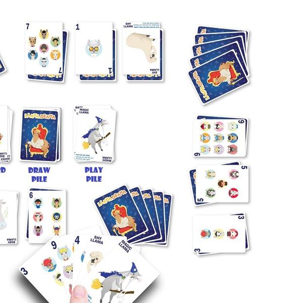 Llama Drama Card Game – A Fun and Competitive Card Game
