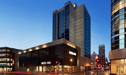 Stay at Hotel Pur in Quebec City, QC with Parking. Dates into June.