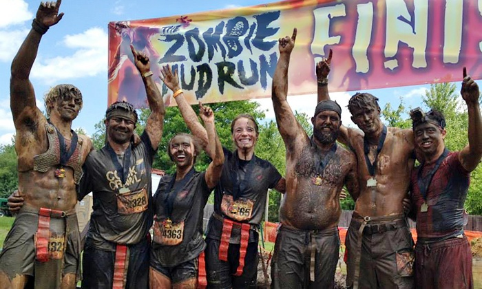 The Zombie Mud Run -  Byron's Motocross: Human or Zombie Entry for One or Two to The Zombie Mud Run on July 26 (Up to 48% Off)