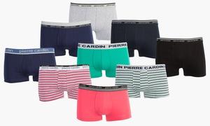 6 boxers Pierre Cardin coton