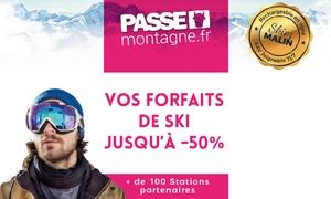 Carte Ski Passe Montagne: Cartes réductions ski ou coffrets ski pour 1, 2 ou 4 personnes dans plus de 100 stations dès 6 € (jusqu'à 60% de remise)