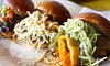 BBQ Joint by Taco Joint - Taco Joint: Tacos, Sliders and Margaritas for Two, Valid Sunday–Thursday or Any Day at BBQ Joint (Up to 40% Off)