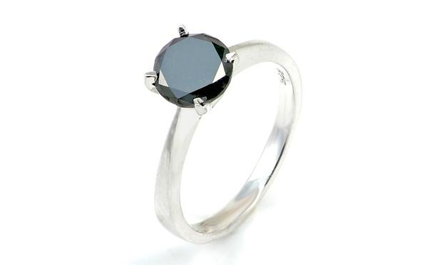 原价9的一克拉黑钻戒指,只需9!