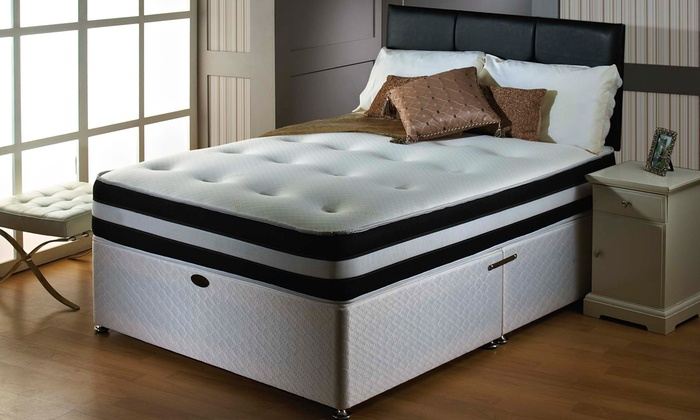 3D Deep-Quilted Orthopaedic Mattress from £60