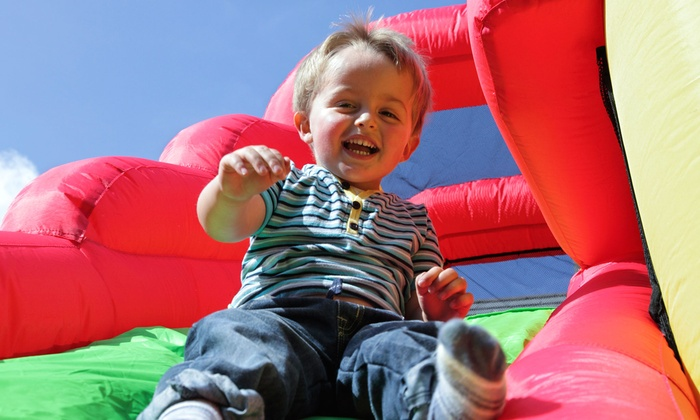 Jumping J's Bounce World - Grand Prairie: $49 for a Four-Hour Bounce-House Rental with Delivery and Pickup from Jumping J's Bounce World ($110 Value)