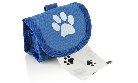 Dog Poop Bag Holder with 12 Bags for £2.99