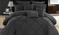 Chic Home 10pcs. Comforter Set