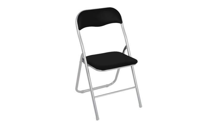 Set 4 sedie pieghevoli Lione   Groupon Goods