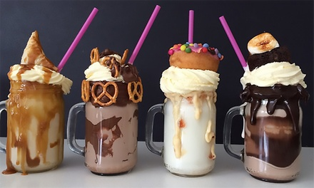 Freakshake for Two at Jacob's Waffle, Chatham High Street