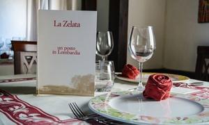 Ristorante La Zelata: Menu tipico pavese con calice per 2 o 4 persone al Ristorante La Zelata (sconto fino a 70%)