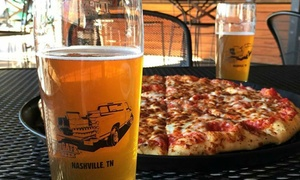 16-Inch Specialty Pizzas, Growlers, and Growler Fills at TailGate Beer - Music Row (Up to 54% Off)