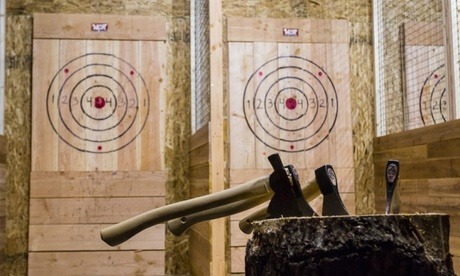 $17 for One Hour of Axe Throwing for One at BustinAxe ($20 Value)