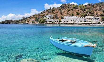 ✈ Crète : 5 ou 7 nuits à l'hôtel Porto Greco Village Beach 4* avec pdj et vols A/R depuis Paris Orly (ORY) ou Lyon (LYS)