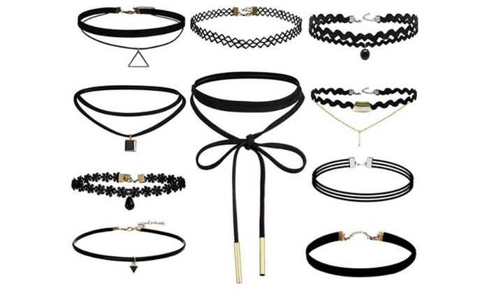 One, Two or Three Ten-Piece Choker Sets from £3.50