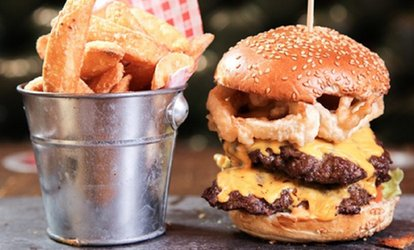 image for Burger Meal for Up to Six at Area 52 (Up to 41% Off)