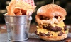 Area 52 - Whitechapel: Burger Meal for Up to Six at Area 52 (Up to 41% Off)