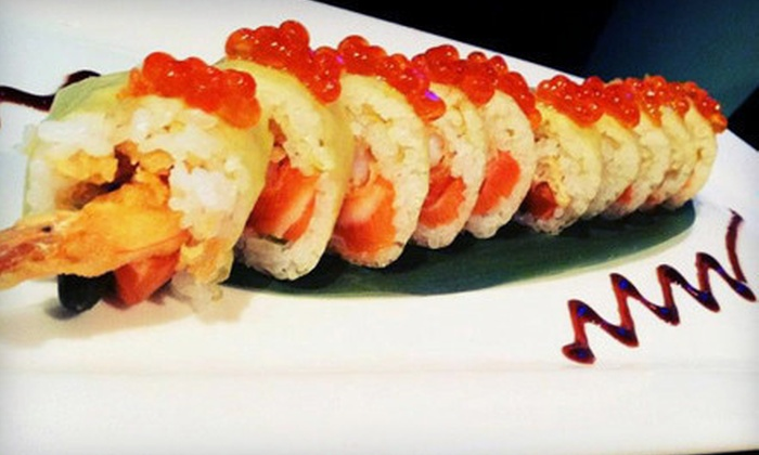 Yakitori Sake House - Palm Beach: $17 for $34 Worth of Sushi and Japanese Dinner at Yakitori Sake House