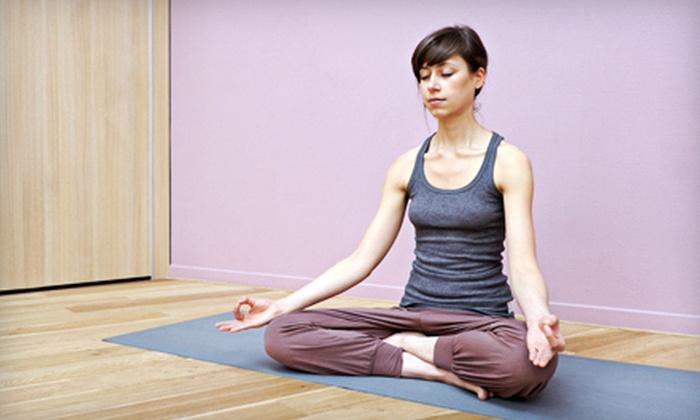 Yoga Bliss - Tuscaloosa: Six or 12 Classes at Yoga Bliss (Half Off)