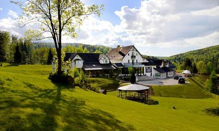 Karkonosze/Riesengebirge: 1-5 Nächte für 2-3 Personen inkl. Frühstück oder Halbpension und Sauna im Hotel Chojnik