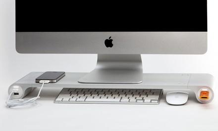 Space Bar Office-Organizer mit 4 USB-Slots für Mac und Windows-Desks inkl. Versand (bis zu 78% sparen*)