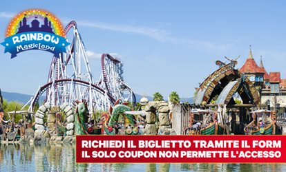 Rainbow Magic Land - Uno o 2 ingressi open validi tutti i giorni al parco Rainbow Magic Land (sconto fino a 36%)